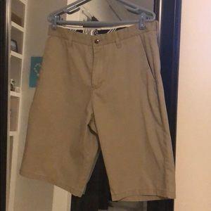 Volcum size 34 khaki shorts